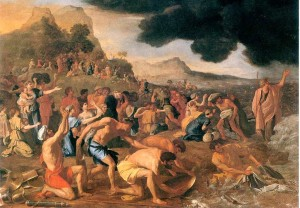 'The Crossing of the Red Sea' - Nicholas Poussin